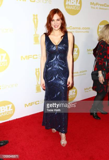 Maitland Ward attends the XBIZ Awards 2020 on January 16 2020 in Los Angeles California
