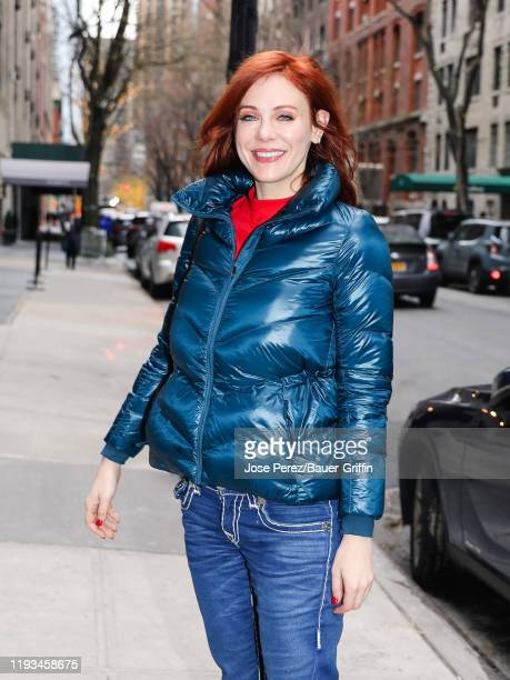 Maitland Ward is seen on January 13 2020 in New York City