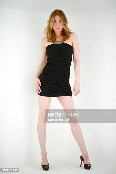 Maitland Ward poses for a photo shoot on May 15 2014 in Los Angeles California