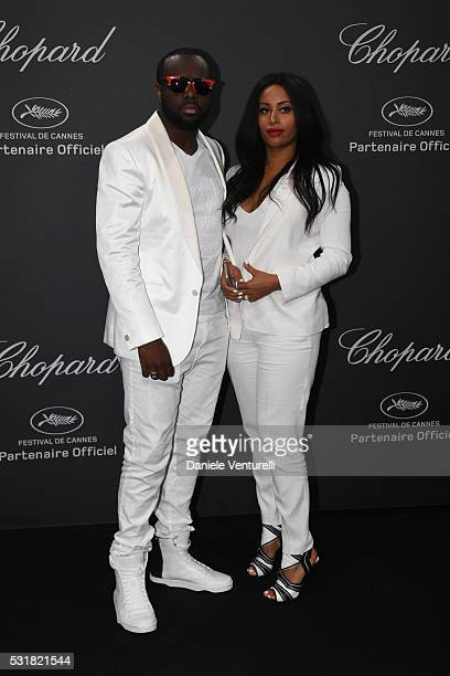 Maitre Gims and DemDem attend Chopard Wild Party as part of The 69th Annual Cannes Film Festival at Port Canto on May 16 2016 in Cannes