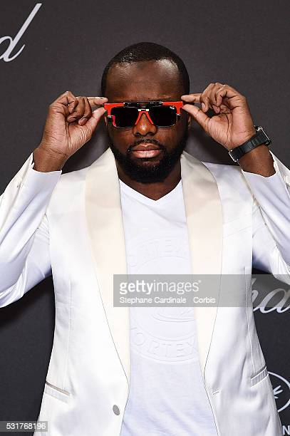 Maitre Gims attend the Chopard Party at the 69th annual Cannes Film Festival on May 16 2016 in Cannes France