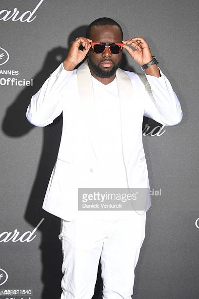 Maitre Gims attends Chopard Wild Party as part of The 69th Annual Cannes Film Festival at Port Canto on May 16 2016 in Cannes