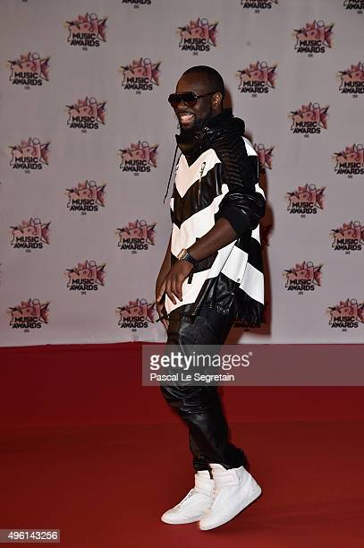 Maitre Gims attends the 17th NRJ Music Awards at Palais des Festivals on November 7 2015 in Cannes France