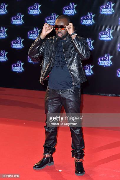 Maitre Gims attends the 18th NRJ Music Awards at Palais des Festivals on November 12 2016 in Cannes France
