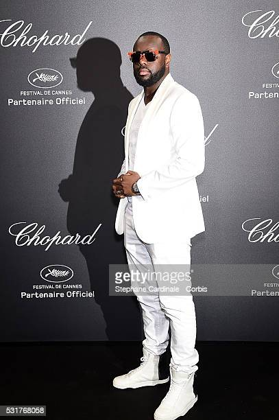 Maitre Gims attends the Chopard Party at the 69th annual Cannes Film Festival on May 16 2016 in Cannes France