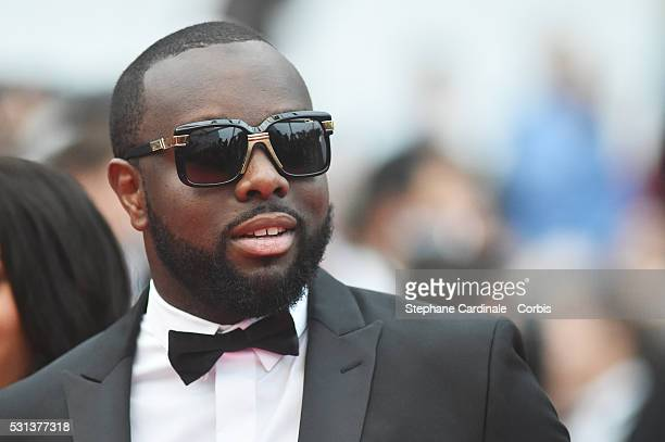 Maitre Gims attends the 'The BFG' Premiere during the annual 69th Cannes Film Festival at the Palais des Festivals on May 14 2016 in Cannes France