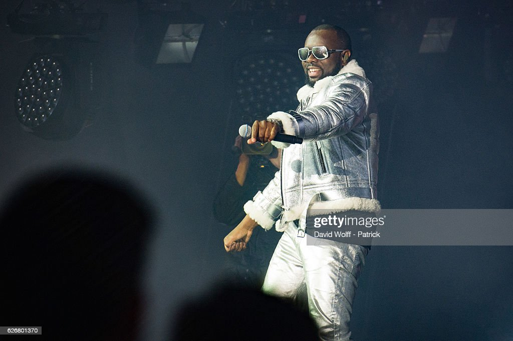 Maitre Gims Performs At AccorHotels Arena In Paris