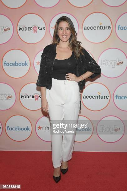 Maity Interiano arrives at the People en Espanol's 25 Most Powerful Women Luncheon 2018 on March 16 2018 in Miami Florida