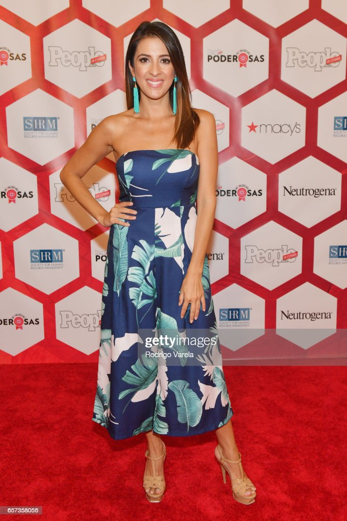 Maity Interiano attends People En Espanol's 25 Most Powerful Women Luncheon 2017 at Hyatt Regency on March 24, 2017 in Coral Gables, Florida.