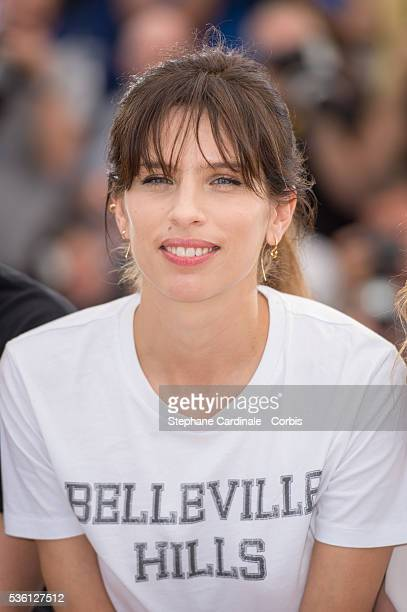 """Maiwenn attends the """"Mon Roi"""" Photocall during the 68th Cannes Film Festival"""