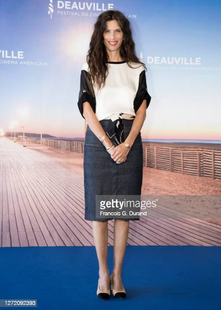 "Maiwenn Le Besco attends the ""ADN"" Photocall at the 46th Deauville American Film Festival on September 12, 2020 in Deauville, France."