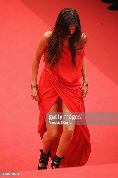 Maiwenn Le Besco attends the Les BienAimes premiere at the Palais des Festivals during the 64th Cannes Film Festival on May 22 2011 in Cannes France