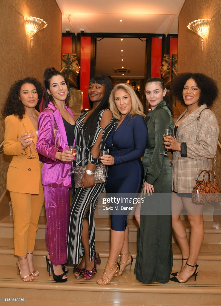 GBR: The Olivier Awards 2019 Nominees Luncheon At The May Fair Hotel