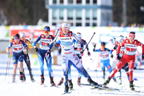 DEU: FIS Nordic World Ski Championships Oberstdorf - Women's Cross Country Team Finals