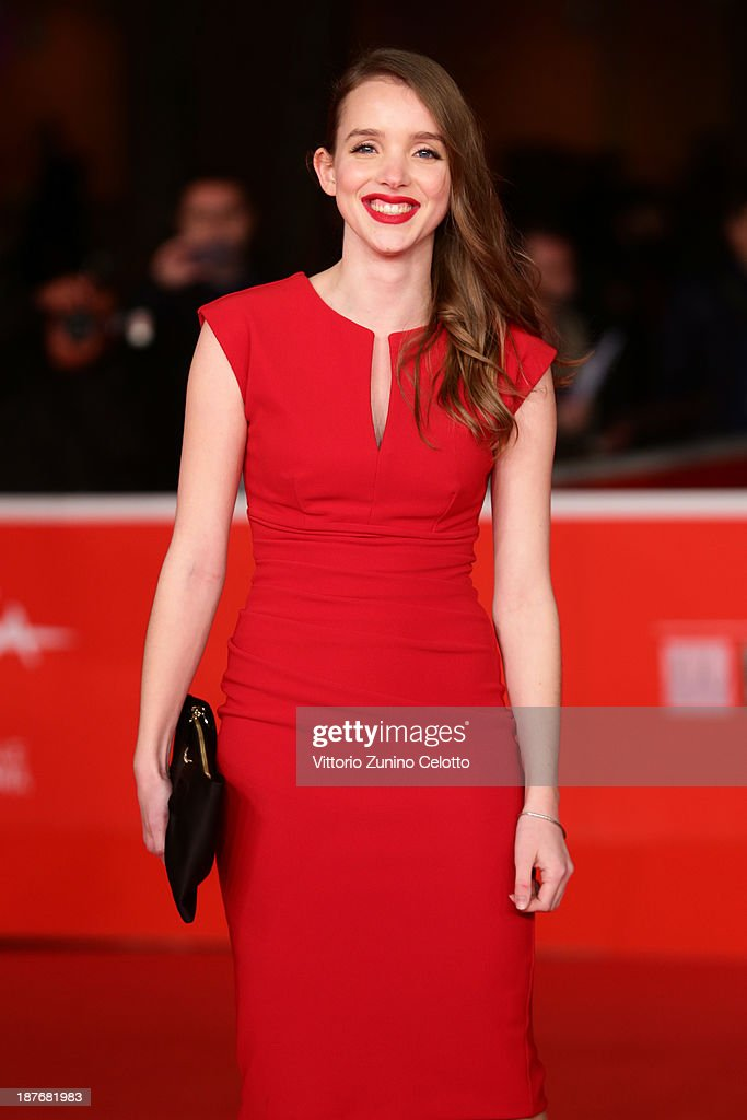 Maja Dybboe attends 'Sorrow And Joy' Premiere And 'Quando I Tedeschi Non Sapevano Nuotare' Premiere during The 8th Rome Film Festival at Auditorium Parco Della Musica on November 11, 2013 in Rome, Italy.