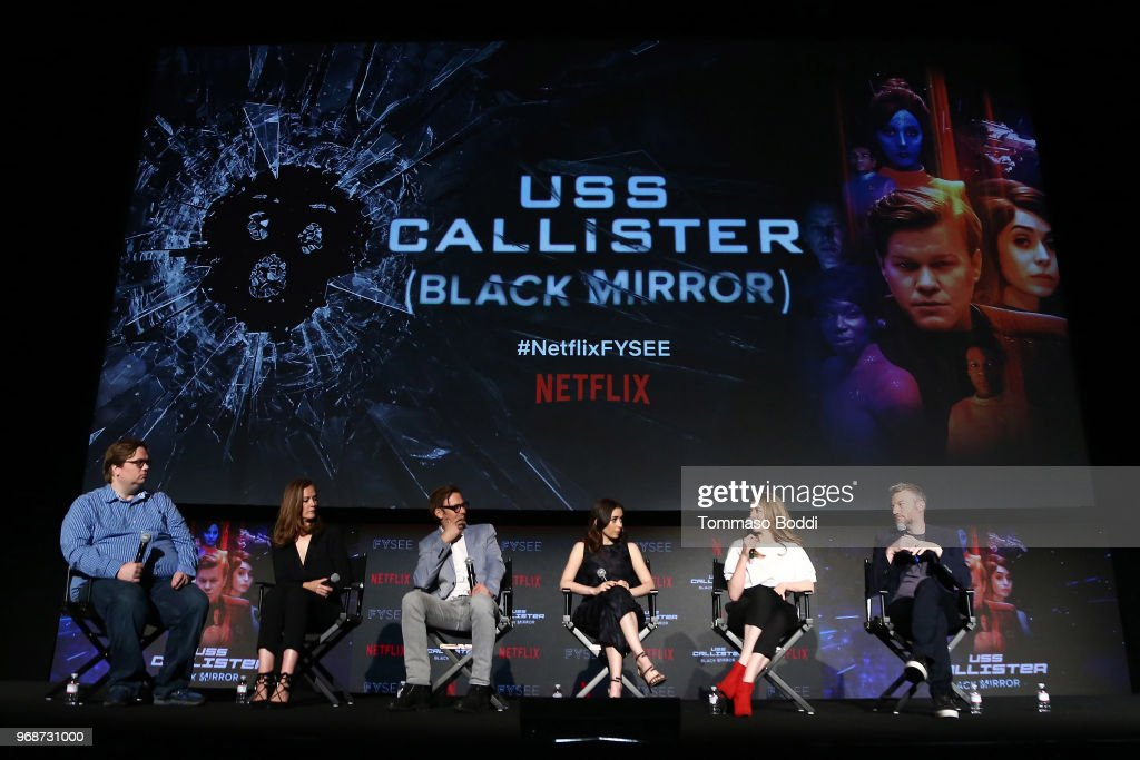 "FYSEE Event for Netflix's ""Black Mirror"" - Inside : News Photo"