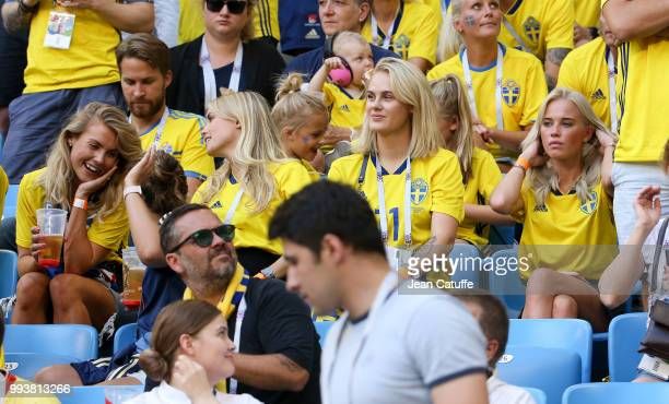 Maja Nilsson wife of Victor Lindelof Camilla SjodahlEssen wife of Albin Ekdal Sanna Dahlstrom wife of John Guidetti Elin Wass wife of Oscar Hiljemark...