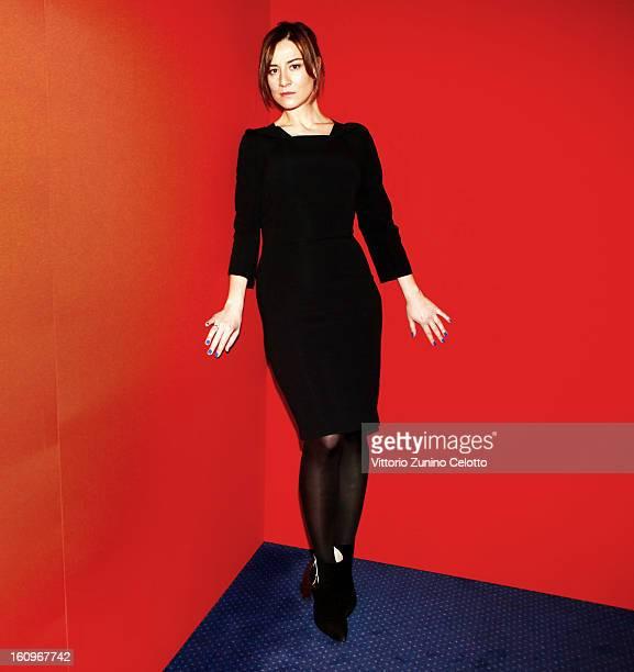 Maja Ostaszewska attends 'W imie ' portrait session 63rd Berlinale International Film Festival on February 8 2013 in Berlin Germany