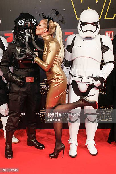 Maja von Hohenzollern attends the German premiere for the film 'Star Wars The Force Awakens' at Zoo Palast on December 16 2015 in Berlin Germany