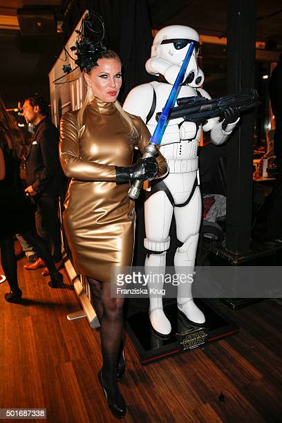 Maja von Hohenzollern attends the Star Wars The Force Awakens' after premiere party on December 16 2015 in Berlin Germany