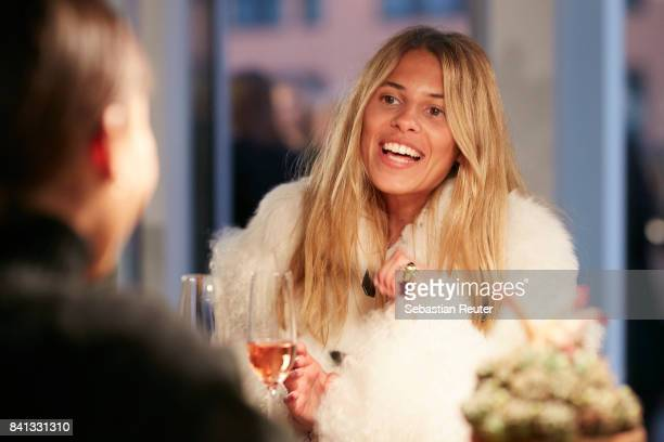 Maja Wyh attends the Dorothee Schumacher Pop Up Store opening on August 31 2017 in Hamburg Germany