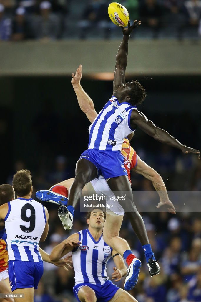 AFL Rd 9 - North Melbourne v Brisbane