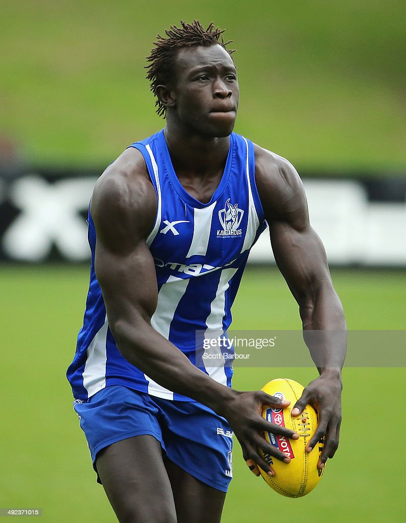 North Melbourne Kangaroos Media & Training Session