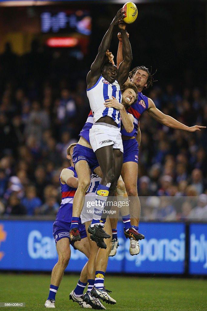 AFL Rd 20 - Western Bulldogs v North Melbourne
