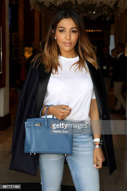 Majd Sakho is spotted at the'Majestic' hotel during the 70th annual Cannes Film Festival at on May 24 2017 in Cannes France
