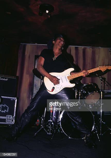 Majek Fashek during Majek Fashek in Concert at Reminiscence 1997 at Reminiscence in New York City New York United States