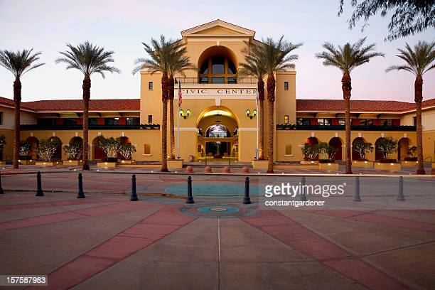 majestic cathedral city civic center - palm springs california stock pictures, royalty-free photos & images