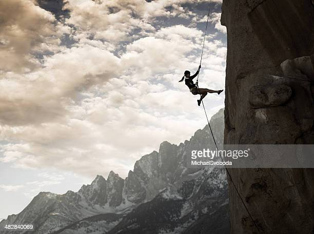 majestic climber - rock climbing stock pictures, royalty-free photos & images