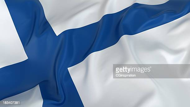 Majestic Flag of Finland