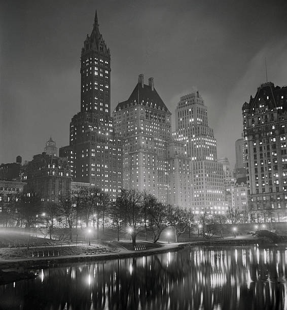 Hotels By Central Park Wall Art