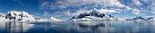 Majestic Icy Wonderland in Paradise Bay of Antarctica