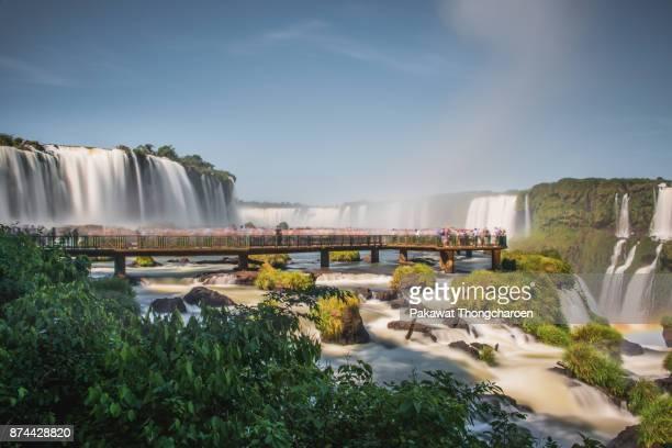 Majestic Iguazu Falls, Brazil