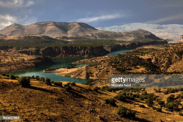 majestic mountain landscape, sanliurfa, turkey - şanlıurfa stock pictures, royalty-free photos & images