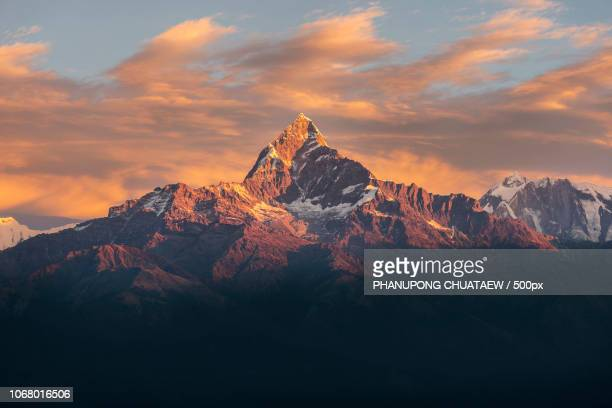 Majestic mountain peak