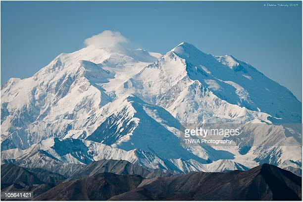 majestic mt. mckinley - mt mckinley stock photos and pictures