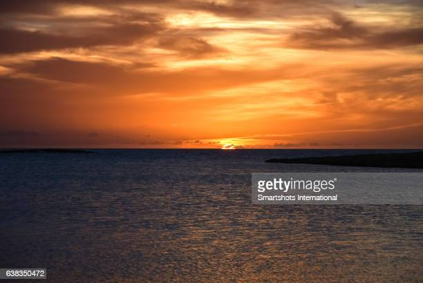 Majestic sunset at Cayo Santa Maria, Cuba