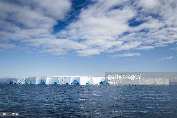 majestic tabloid iceberg - mlenny stock pictures, royalty-free photos & images