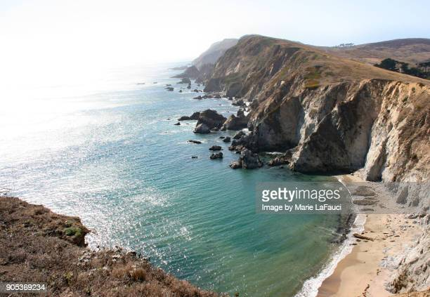 Majestic view of Point Reyes Headlands along the Pacific Ocean