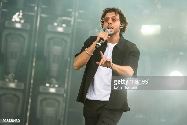 Majid Al Maskati of Majid Jordan performs during Wireless Festival 2018 at Finsbury Park on July 7th 2018 in London England
