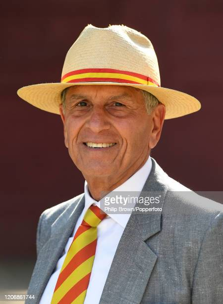Majid Khan former Pakistan captain poses for a photograph during the T20 match between Northern and the MCC at Aitchison College on February 17 2020...