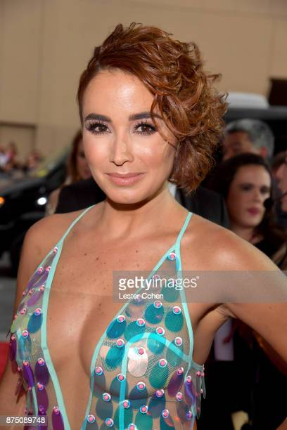Majida Issa attends The 18th Annual Latin Grammy Awards at MGM Grand Garden Arena on November 16 2017 in Las Vegas Nevada