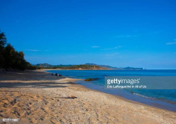 Majon beachfront holiday cottages beach South Hamgyong Province Hamhung North Korea on September 11 2012 in Hamhung North Korea