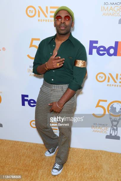 Major attends 50th NAACP Image Awards Nominees Luncheon Arrivals at Loews Hollywood Hotel on March 09 2019 in Hollywood California