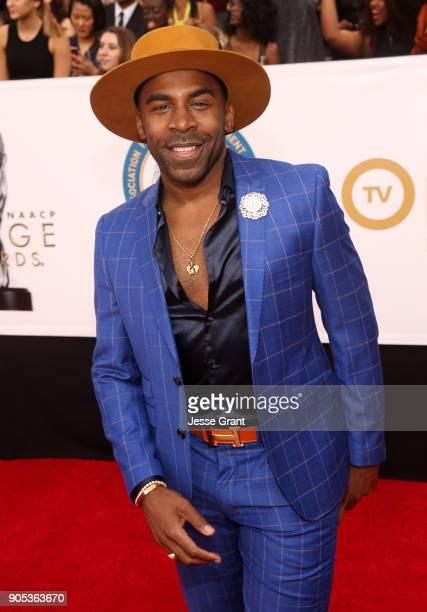 Major attends the 49th NAACP Image Awards at Pasadena Civic Auditorium on January 15, 2018 in Pasadena, California.