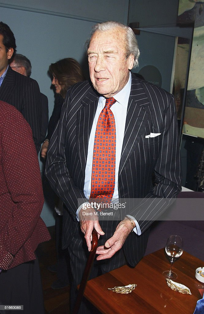 Major Bruce Shand attends the party celebrating the launch of Tom Parker-Bowles new book ' E Is For Eating' at Kensington Place on November 3, 2004 in London. Subtitled 'An Alphabet Of Greed', book focuses on unusual subjects including 'c is for cannibalism' and 'i is for insects'.