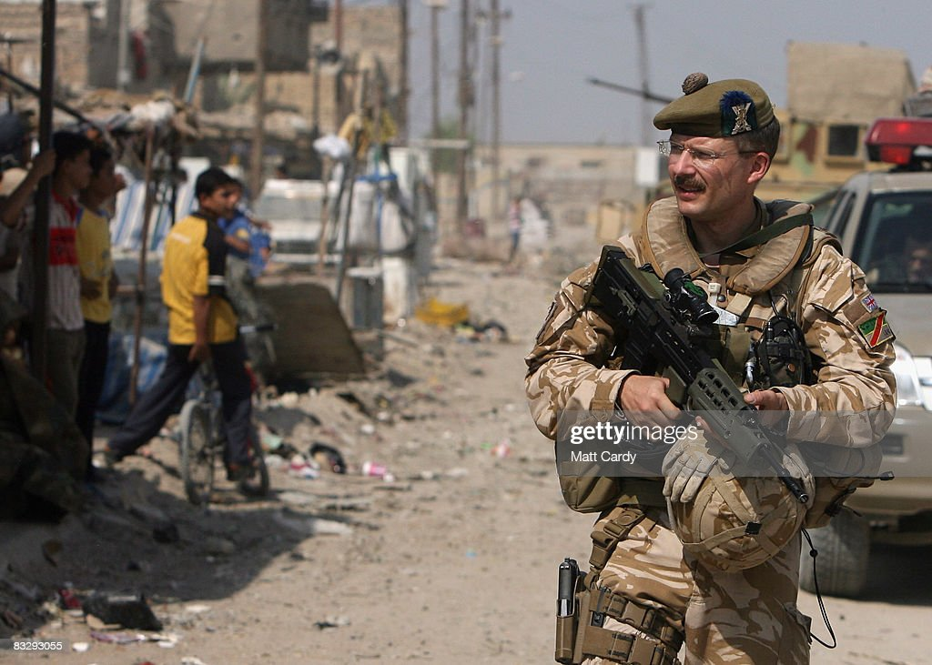 Security Continues To Improve In Basra : News Photo